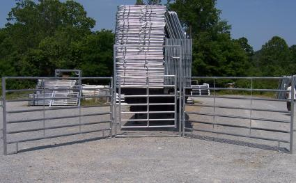 Round Pen - 7 Bar Galvanized Extra Heavy Duty
