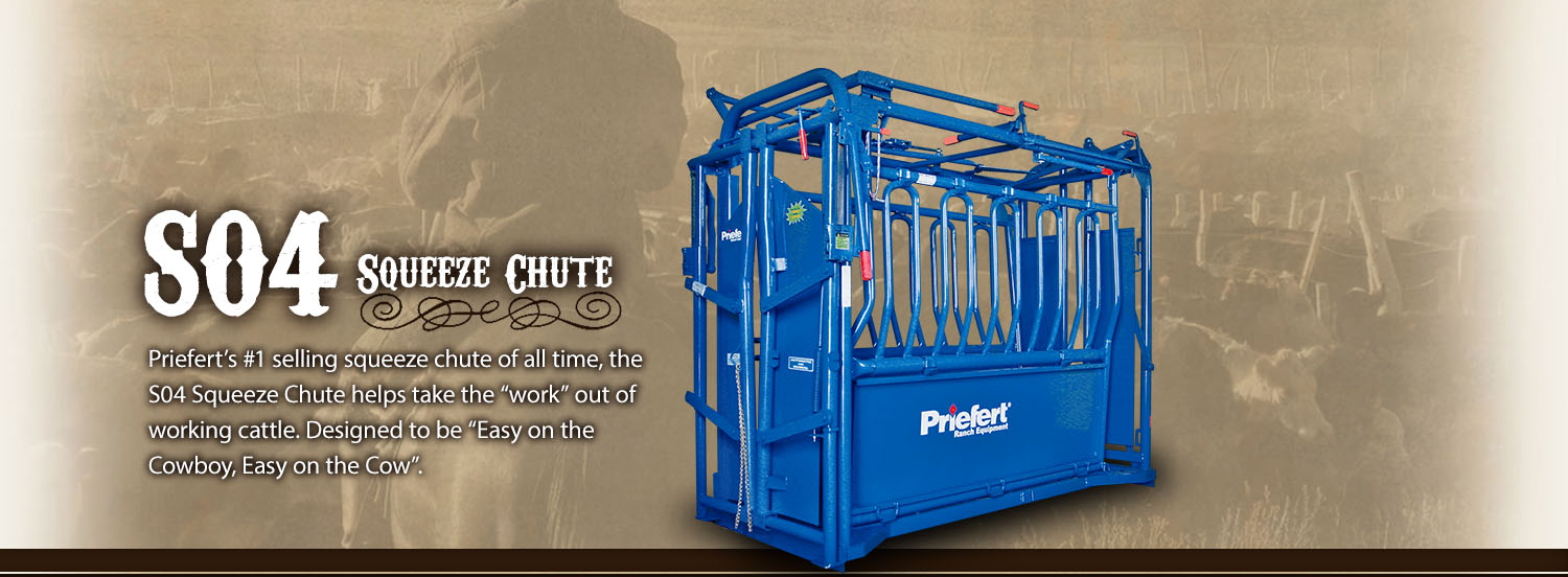 Priefert Squeeze Chutes Model S04